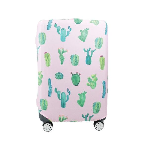 viaje cubre valija cactus